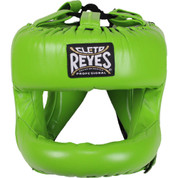 Cleto Reyes Redesigned Headgear Facesaver w/ Nylon Bar - Citrus Green