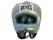 Cleto Reyes Traditional Headgear with Nylon Face Bar - Titanium