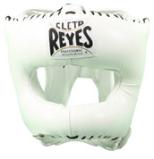 Cleto Reyes Traditional Headgear with Nylon Face Bar - White