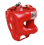 Cleto Reyes Traditional Headgear with Nylon Face Bar - Red