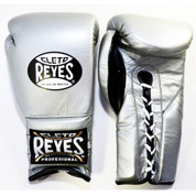 Cleto Reyes Training Gloves With laces and attached thumb - Titanium