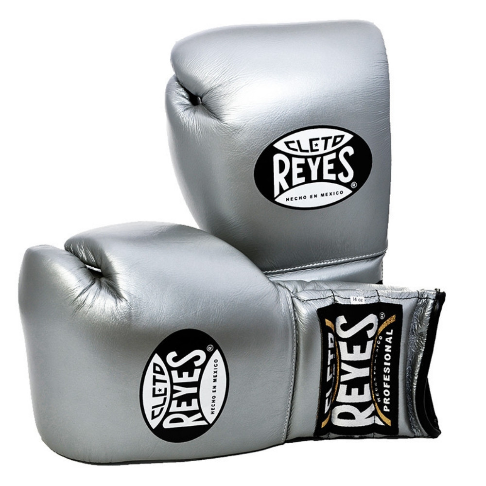 Titanium Cleto Reyes Hook and Loop Leather Training Boxing Gloves