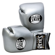 Cleto Reyes Professional Training Boxing Gloves with Velcro - Titanium