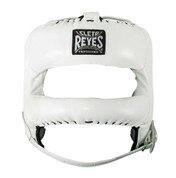 Cleto Reyes Redesigned  Headgear Facesaver w/ Nylon Bar - White