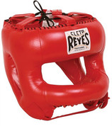 Cleto Reyes Redesigned Headgear Facesaver w/ Nylon Bar Red