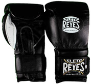 Cleto Reyes Hook & Loop Training Gloves - Velcro - Black