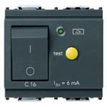 1P+N C16 RCBO 120v-230V Circuit Breaker 6mA