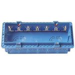 Flush Mounting Box 6M Light Blue