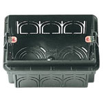 Flush Mounting Box 3M Black