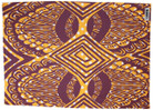 Yampatukuni Tea Towel - Purple Yellow and White