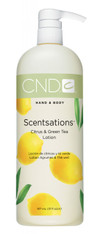 CND Scentsations Lotion - Citrus & Green Tea (31 oz)