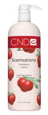 CND Scentsations Lotion - Cranberry (31 oz)