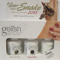 Harmony Gelish - Year Of The Snake Collection 2013 (w/ FREE Strength Vitagel)