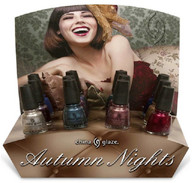 China Glaze Autumn Nights (36 pcs w/Display)
