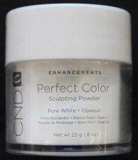 CND Pure White Powder - Opaque (.8 oz)