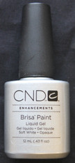 CND Brisa Gel Paint - Soft White Opaque (.43 oz)