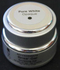 CND Brisa Sculpting Gel - Pure White Opaque (.5 oz)