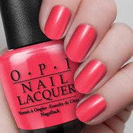 OPI Nail Polish - Red My Fortune Cookie (H42)