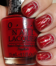 OPI Nail Polish - Red Shatter (E55)