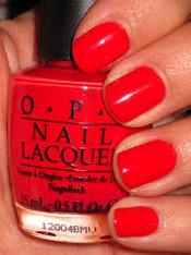 OPI Nail Polish - Red Lights Ahead.. Where? (H61)