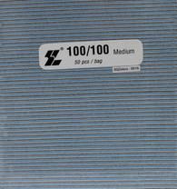 Jumbo Square Black 100/100  (pack of 50)