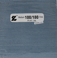 Jumbo Square Zebra 100/180  (pack of 50)