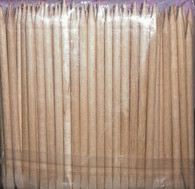 Orange Wood Sticks - short (100 pcs)