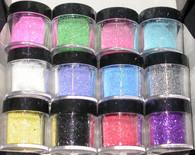 Nail Art Kit (12 glitter colors)