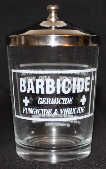 Barbicide Table Jar