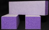 3 Way Buffer - White Sand Purple (Coarse/Fine) - 3 for $1