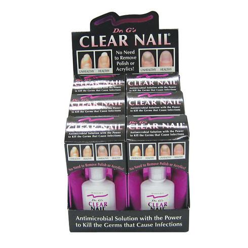Dr. G\'s Clear Nail Antifungal Treatment (6 pack) - Starlightnail.com