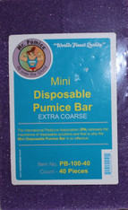 Mr. Pumice Mini Disposable Pumice Basr (Extra Coarse)