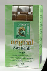 Clean & Easy Original Wax Refill Large (3 pack)