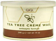Gigi Tea Tree Creme Wax (14 oz)