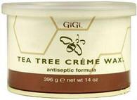 Gigi Tea Tree Creme Wax (14 oz)