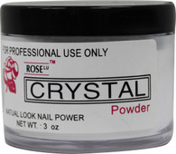 Rose Acrylic Powder - Crystal (3 oz)