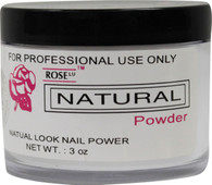 Rose Acrylic Powder - Natural (3 oz)