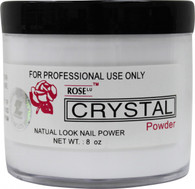Rose Acrylic Powder - Crystal (8 oz)