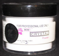 Rose Acrylic Powder - Crystal (2 oz)