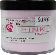 Rose Acrylic Powder - Super Pink (8 oz)