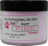 Rose Acrylic Powder - Super Pink (2 oz)