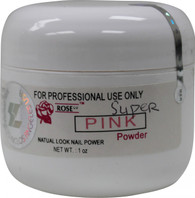 Rose Acrylic Powder - Super Pink (1 oz)