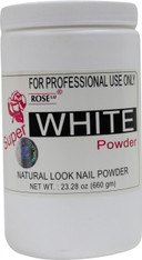 Rose Acrylic Powder - Super White (23.28 oz)