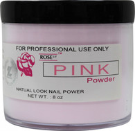 Rose Acrylic Powder - Pink (8 oz)