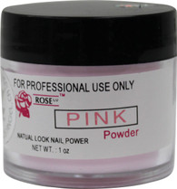Rose Acrylic Powder - Pink (1 oz)