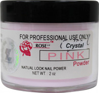 Rose Acrylic Powder - Crystal Pink (2 oz)