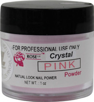 Rose Acrylic Powder - Crystal Pink (1 oz)