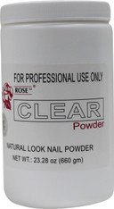 Rose Acrylic Powder - Clear (23.28 oz)