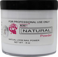 Rose Acrylic Powder - Natural (8 oz)