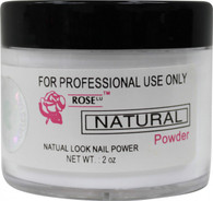 Rose Acrylic Powder - Natural (2 oz)